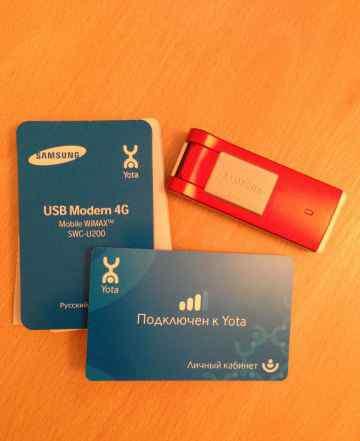 USB Modem 4G Samsung SWC-U200 Yota