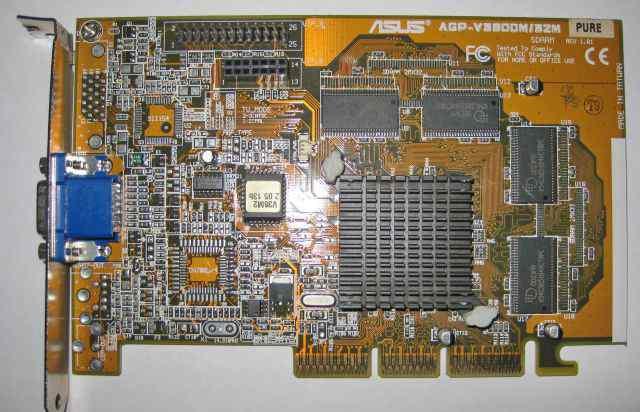 Asus Riva TNT2 V3800M Pure 32mb AGP