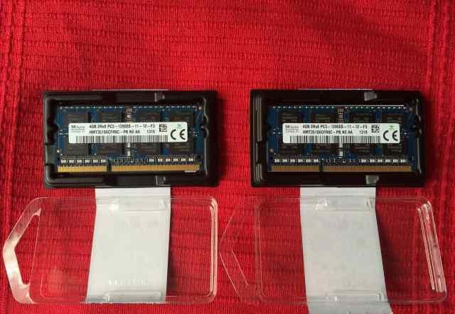 Память DDR3 1600 мгц 8 гб 2x4gb