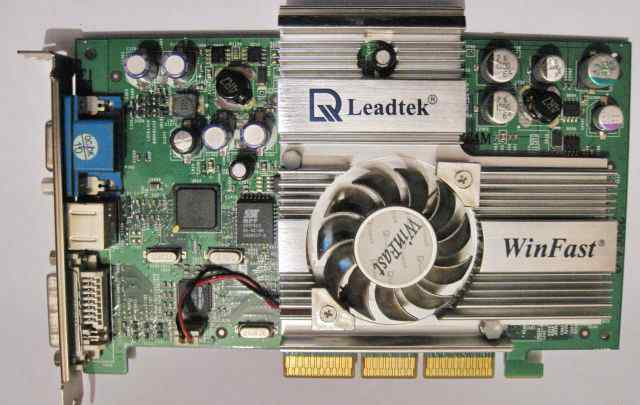 Leadtek WInFast GeForce4 Ti4200 A250LE 64mb AGP