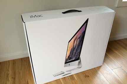 Новый iMac 5k в упаковке