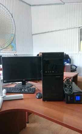 Компьютер обыкновенный офисный
