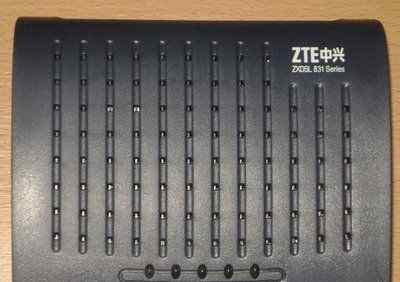 Модем zxdsl 831 Series (ZTE)