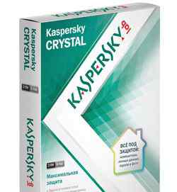 Kaspersky crystal 2 пк, 1 год
