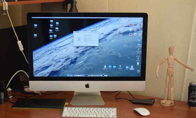 Apple iMac 27 (ME088) /3.2GHz i5/8гб/HDD1Tb/GT755