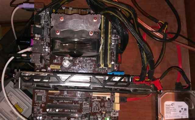 I5-4670k+ R9 280x