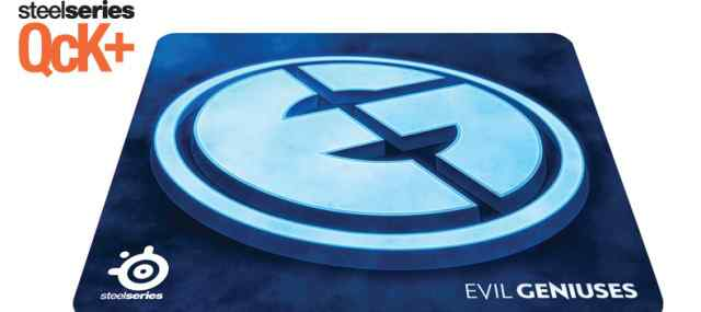 SteelSeries QcK+ Limited Edition Evil Geniuses