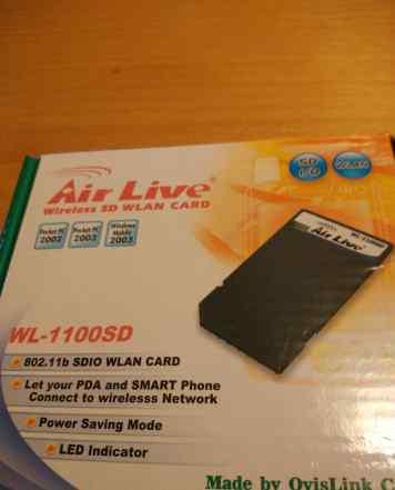 SD wlan Card (WiFi SD карта) WL-1100SD