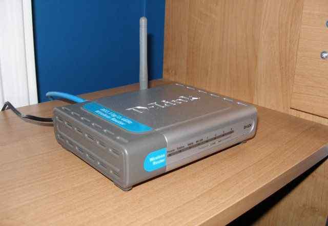 Беспроводной маршрутизатор D-Link 524