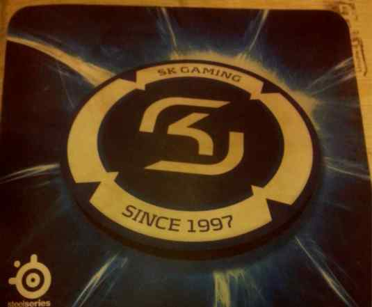 SteelSeries QCK+ Limited Edition SK gaming