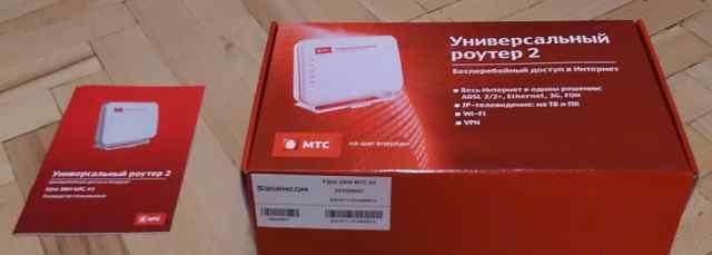 Универсальный роутер Fast 2804 МТС v3