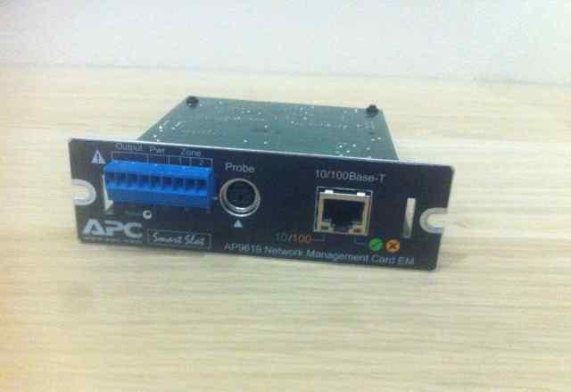 Карта управления и мониторинга APC AP9619 snmp