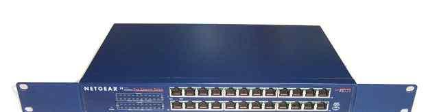 Коммутатор (свитч) Netgear FS524 24 порта 100Mb/s