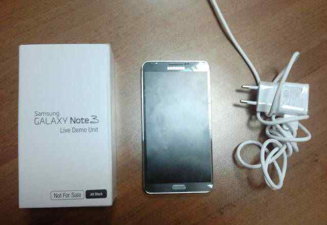Samsung Galaxy Note 3 live demo unit