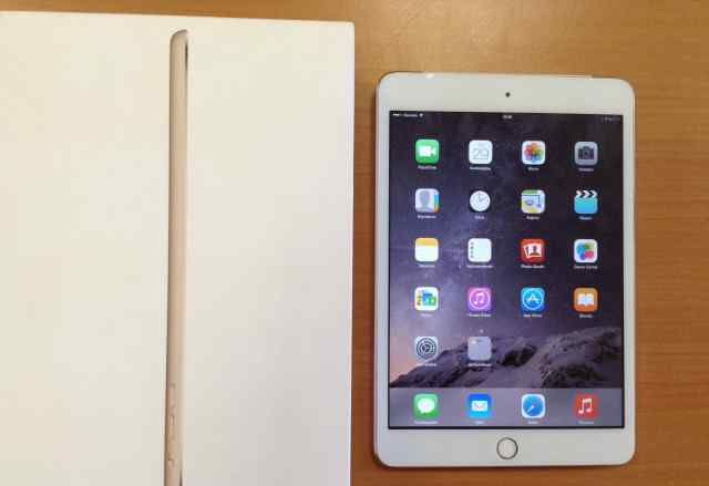 iPad mini 3 Gold 64gb LTE ростест