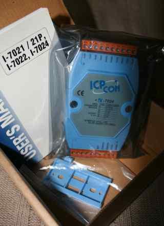 I-7024 Модуль аналогового ввода-вывода ICP