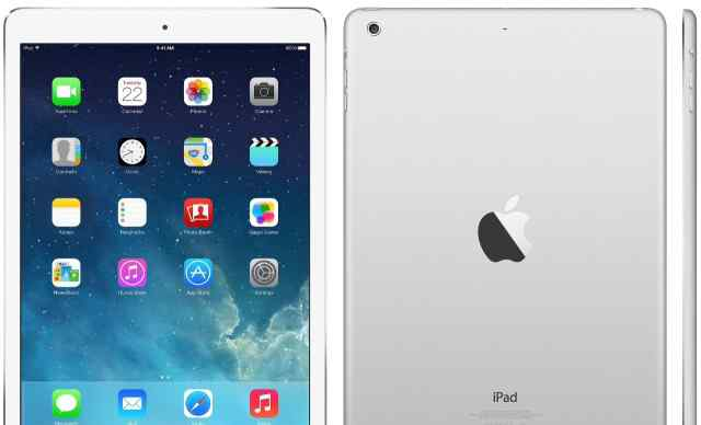 iPad Air 64gb wi-fi 4g silver