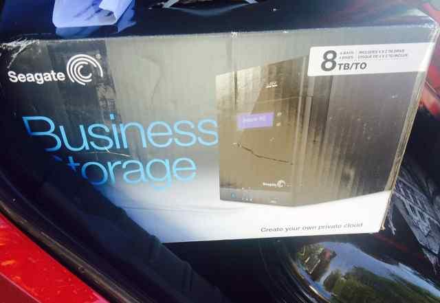 Seagate Business 4-bay 8TB новый