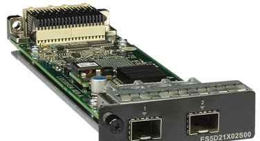 2-port 10 ge SFP+ Optical Interface Card
