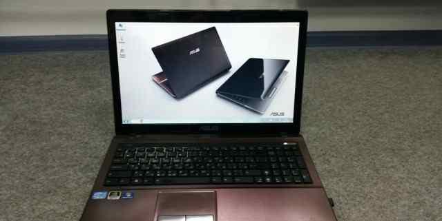 Ноутбук Asus X53S в отличном состоянии