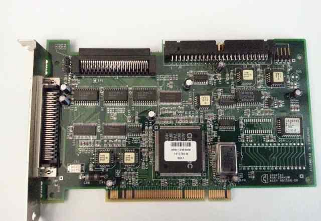 Контроллер Adaptec AHA-2944UW scsi Differential