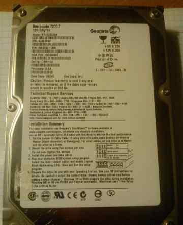 Жесткий диск barracuda 7200.7 120gb