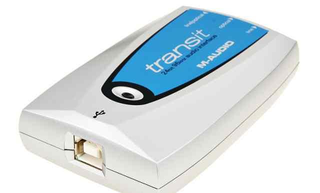 Звуковая карта M-Audio Transit USB