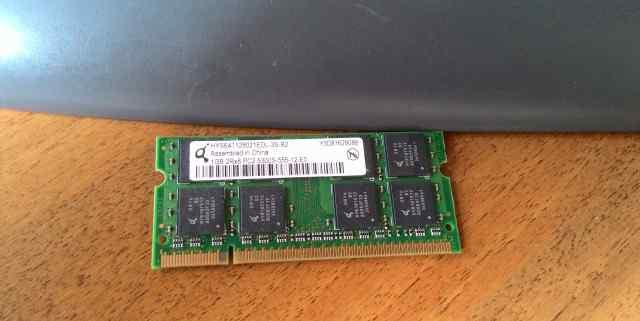 Память оперативная для ноута 1 Гб SO-dimm DDR2