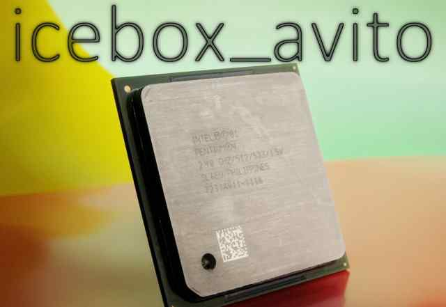 Intel Pentium 4 2.4 (SL6EU)