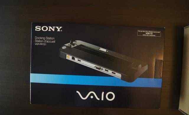Новая Док-станция Sony vaio VGP-prtz1 для TZ серии
