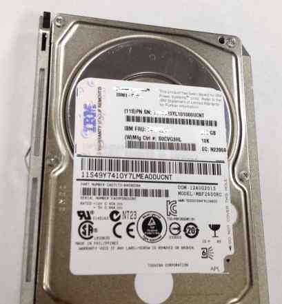 Диск для серверов 600Gb 10K SAS 2.5 MBF2600RC