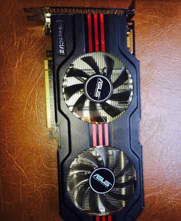 Хороший Asus GeForce GTX560 256bit gddr5