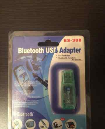 Адаптер Блютуз es-388 bluetooth usb adapter