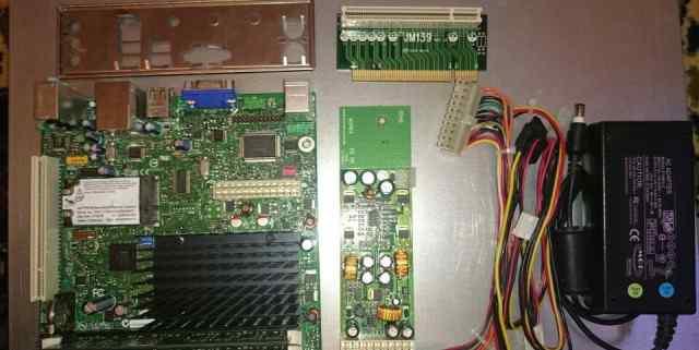 Материнка Mini-ITX Intel D510mo