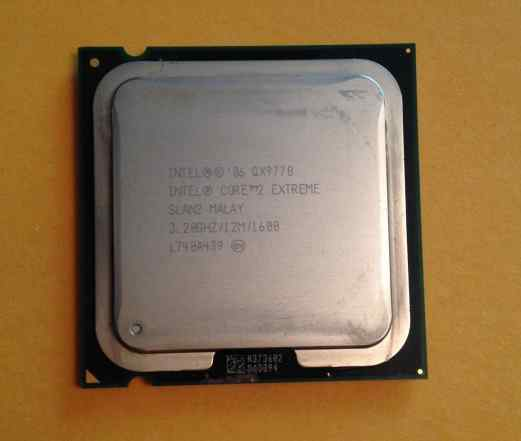 Intel Core 2 Extreme Edition QX9770 LGA 775