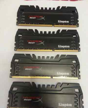Kingston DDR3 32gb kit 4x8gb KHX24C11T3K4/32X