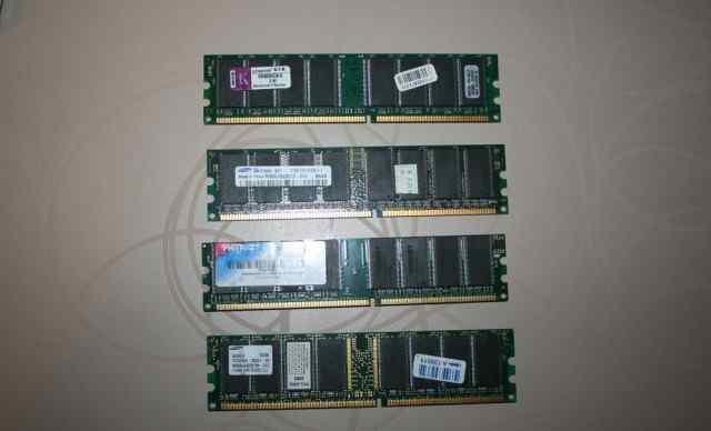 Плашки озу DDR1
