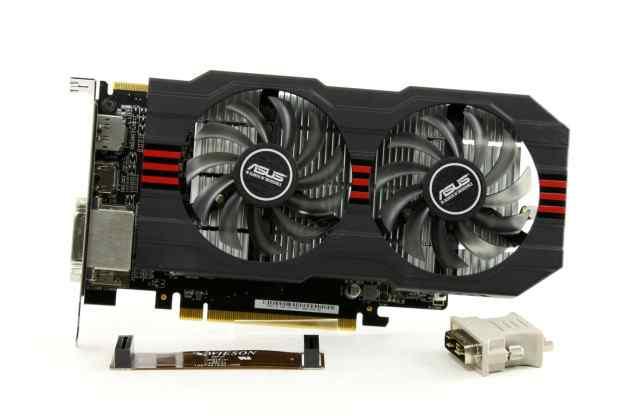 Видеокарта asus ATI Radeon R7 260X R7260X-OC-2GD5