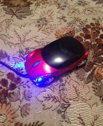 Мышь оптическая Машинка