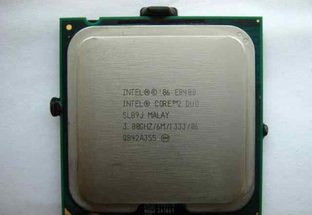 Процессор Intel Core 2 Duo / E8400