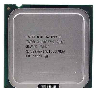 Inel core 2 quad Q9300 2.50GHZ