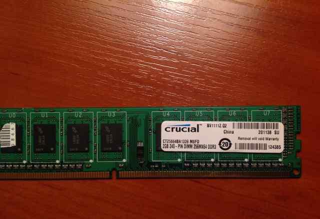 Модуль памяти Crucial