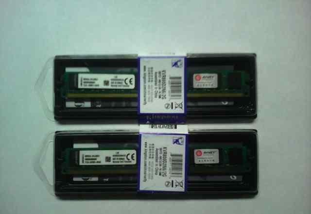 DDR2 4Gb (2+ 2gb) Kingston KVR800D2N6/2G