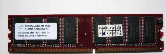 DDR400(2.5) 512MB