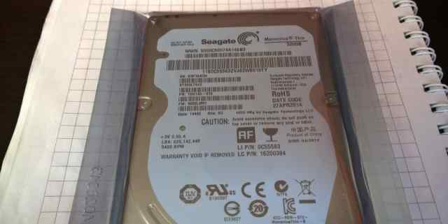 Тонкий SSD Slim seagate ST320LT012