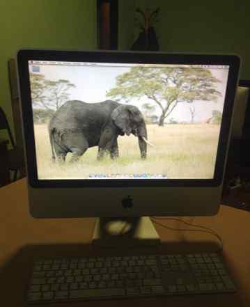 iMac 20 mid 2007 в хорошем состоянии