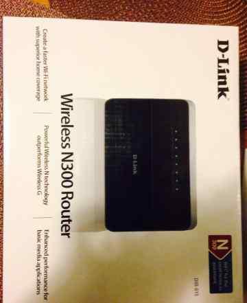 Wi-fi роутер D-Link Wireless N300