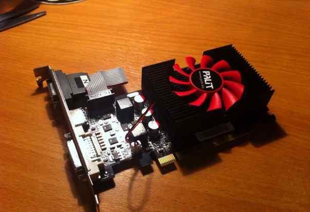 Видеокарта Palit GeForce GT440 1024 Mb 128 bit