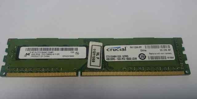 Оперативная память Crucial 4GB DDR3