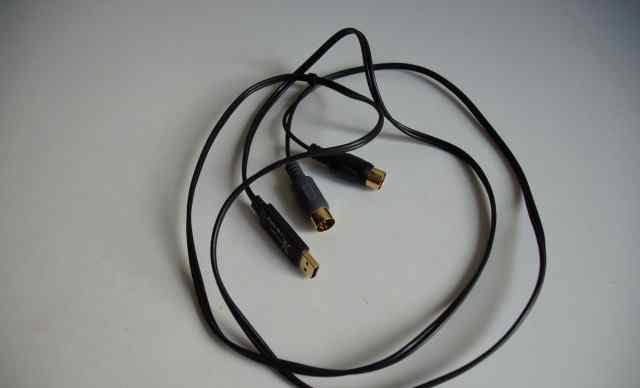 Кабель midi-USB E-MU midi 1x1 tab